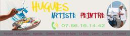 Hugues artiste peintre